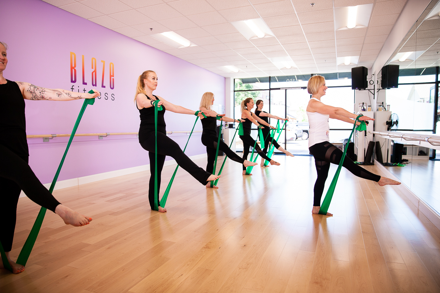 Ballet Barre Blaze Fitness Sherwood Oregon